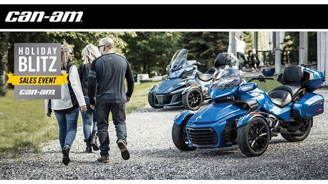Can-Am - Holiday Blitz Sales Event - Spyder